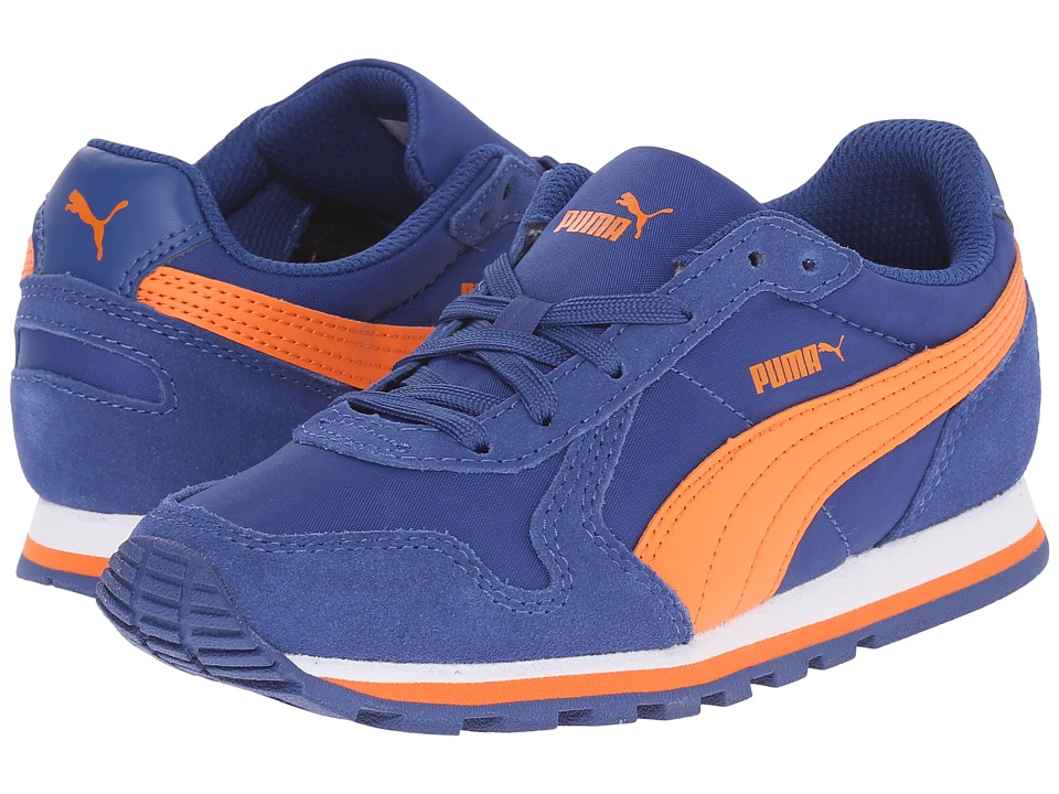 Puma Kids - ST Runner NL Jr (Little Kid/Big Kid) (Limoges/Vibrant Orange) Boys Shoes