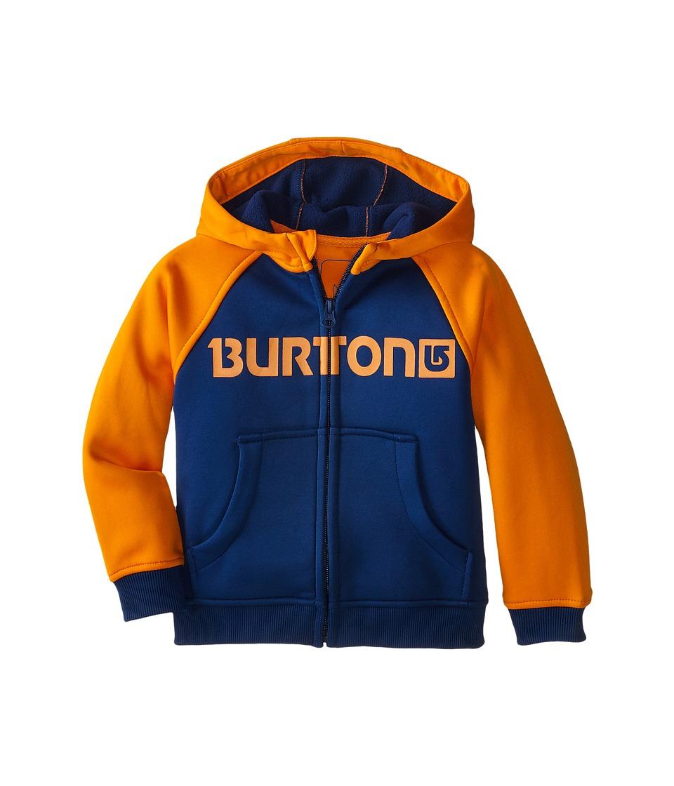 Burton Kids - Mini Bonded Hoodie (Toddler/Little Kids) (Boro/Safety) Boy's Sweatshirt