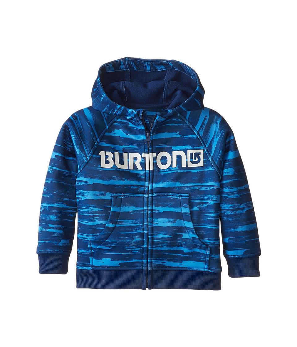 Burton Kids - Mini Bonded Hoodie (Toddler/Little Kids) (Sloppy Stripe) Boy's Sweatshirt