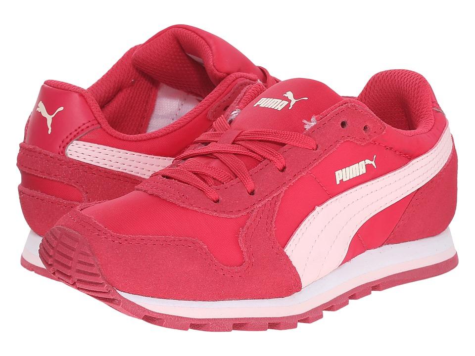 Puma Kids - ST Runner NL Jr (Little Kid/Big Kid) (Rose Red/Pink Dogwood) Girls Shoes