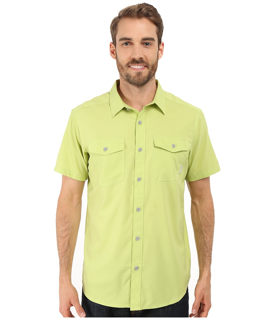 Columbia - Utilizer II Solid Short Sleeve Shirt (Napa Green) Men's Short Sleeve Button Up