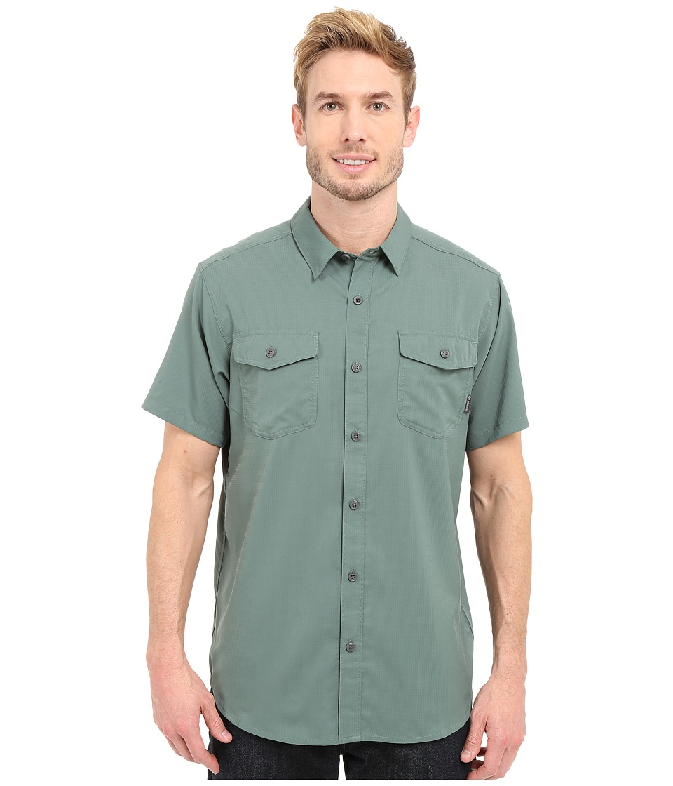 Columbia - Utilizer II Solid Short Sleeve Shirt (Commando) Men's Short Sleeve Button Up