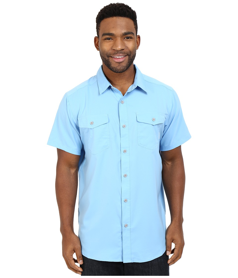 Columbia - Utilizer II Solid Short Sleeve Shirt (Blue Sky) Men's Short Sleeve Button Up