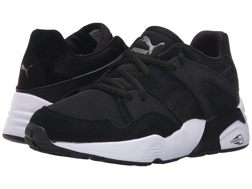Puma Kids Blaze Jr. (Little Kid/Big Kid) (Black) Boys Shoes
