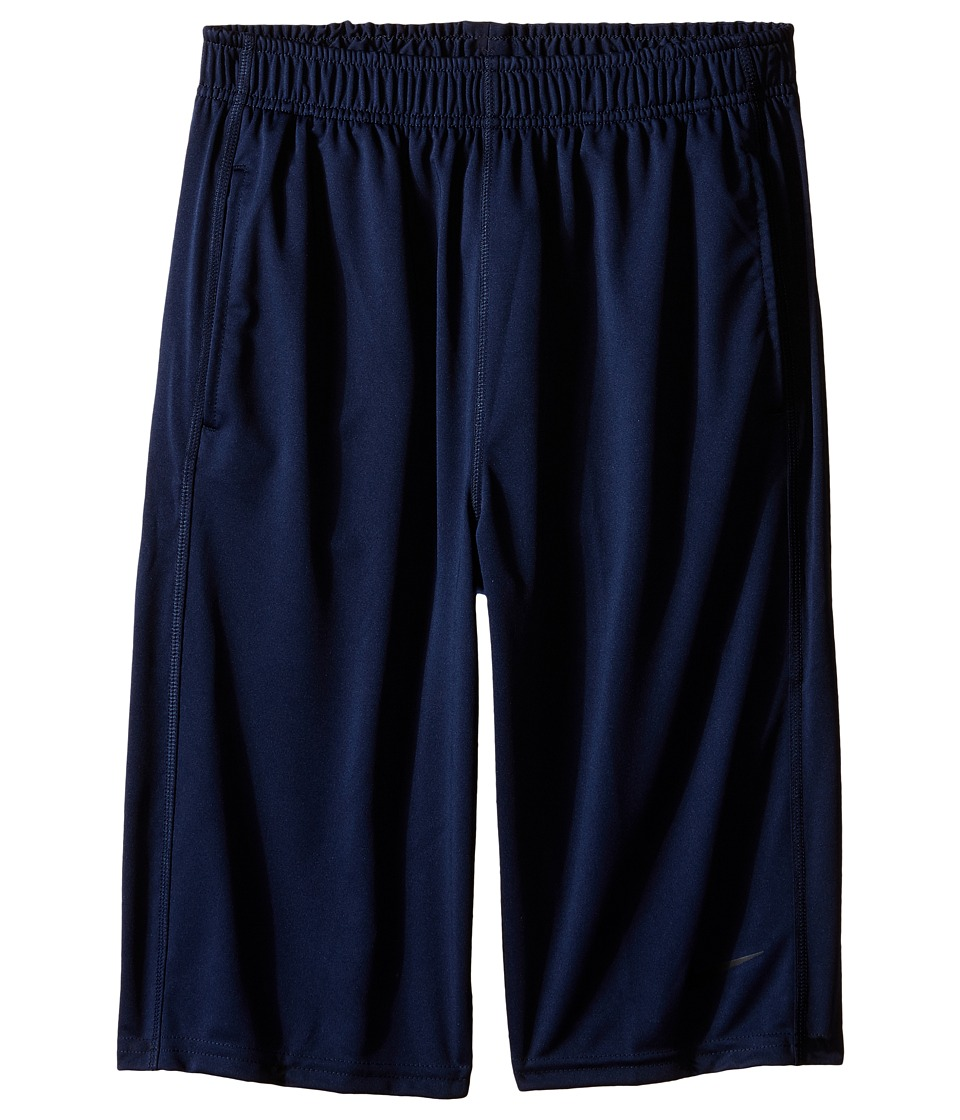 Nike Kids - Fly Short (Little Kids/Big Kids) (Obsidian/Obsidian/Black) Boy's Shorts