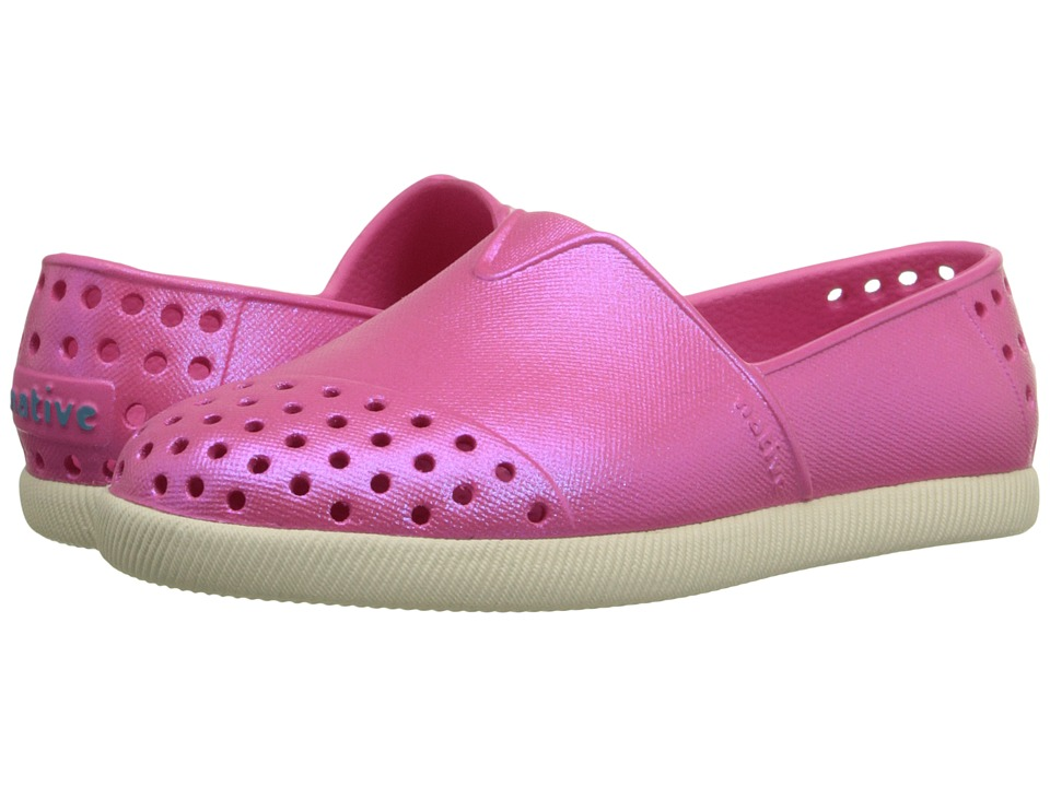 Native Kids Shoes - Verona (Toddler/Little Kid) (Hollywood Pink Iridescent) Girl's Shoes