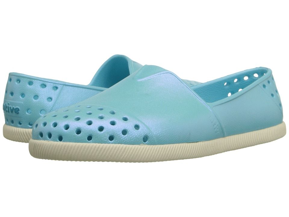 Native Kids Shoes - Verona (Toddler/Little Kid) (Bubble Blue Iridescent) Girl's Shoes
