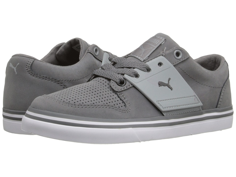 Puma Kids - El Ace 2 Nbk Jr (Little Kid/Big Kid) (Steel Gray/Quarry) Boys Shoes