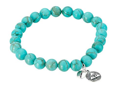 Chan Luu - 7 1/2' Turquoise Stretchy Single Bracelet (Turquoise) Bracelet