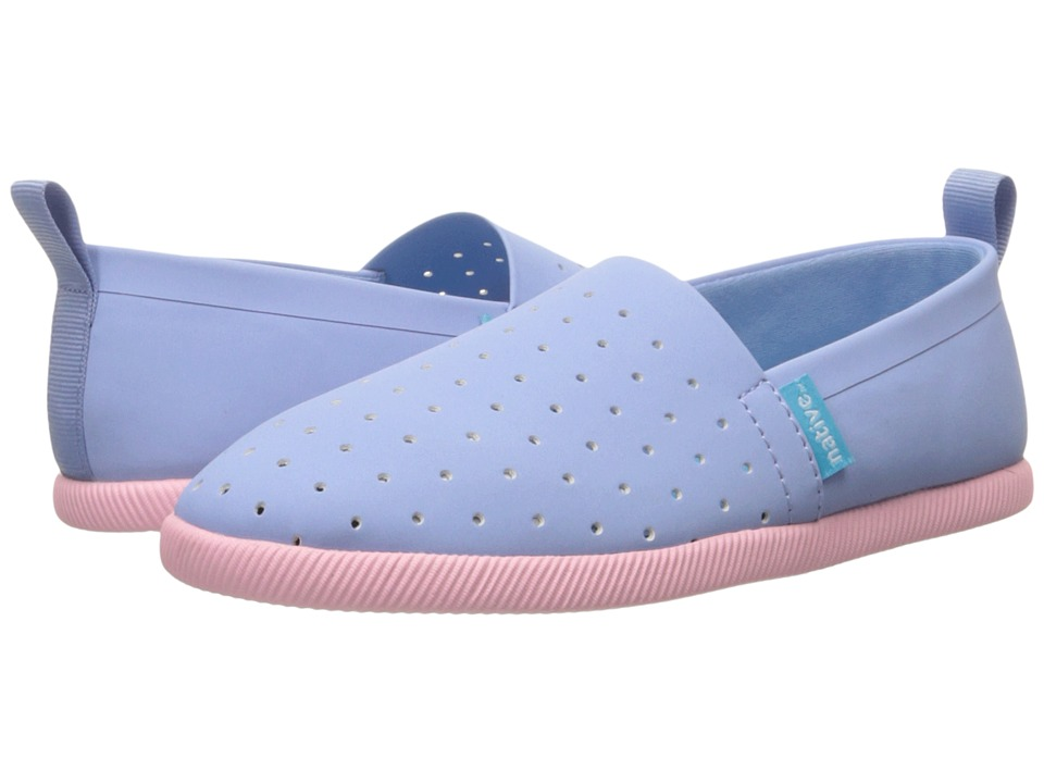 Native Kids Shoes - Venice (Toddler/Little Kid) (Jellyfish Purple/Princess Pink) Girl's Shoes