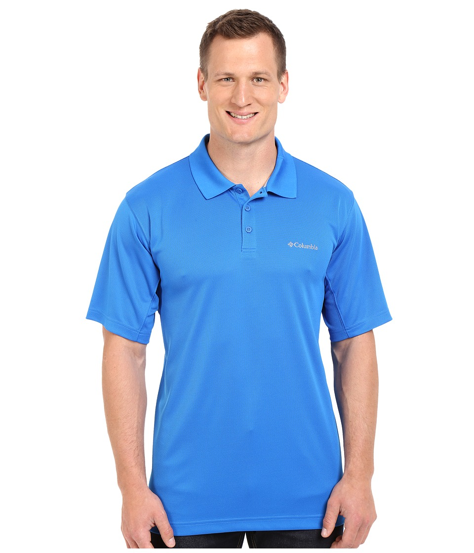 Columbia - Big Tall New Utilizer Polo (Super Blue) Men's Short Sleeve Pullover