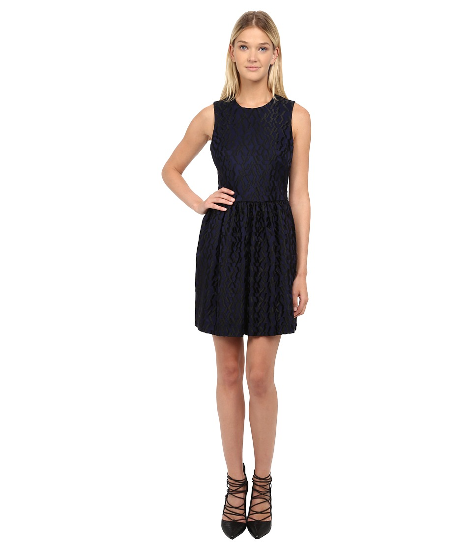 McQ - Volume Party Dress (Navy) Women's Dress