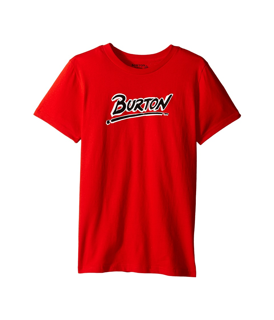 Burton Kids - Big Up Short Sleeve Tee (Big Kids) (Red) Boy's Short Sleeve Pullover