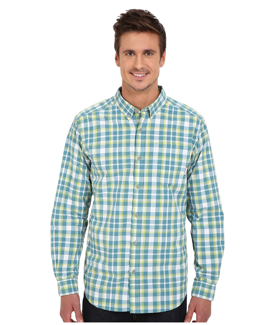 Columbia - Rapid Rivers Long Sleeve Shirt (Shasta Square Plaid) Men's Long Sleeve Button Up