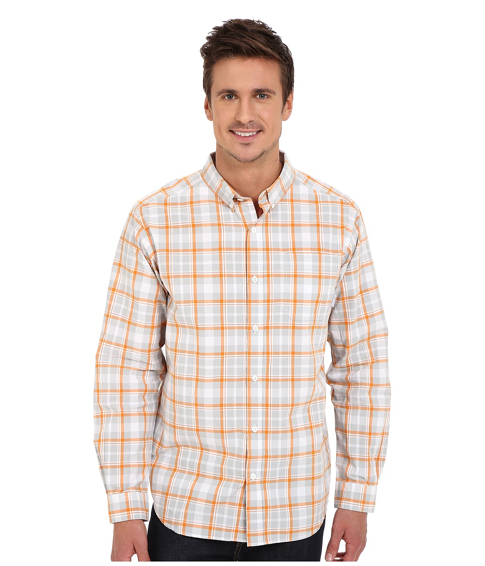 Columbia - Rapid Rivers Long Sleeve Shirt (Solar Square Plaid) Men's Long Sleeve Button Up