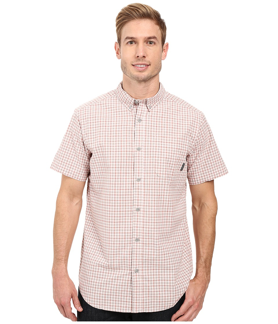 Columbia - Rapid Rivers II Short Sleeve Shirt (Cirrus Grey Plaid) Men's Short Sleeve Button Up