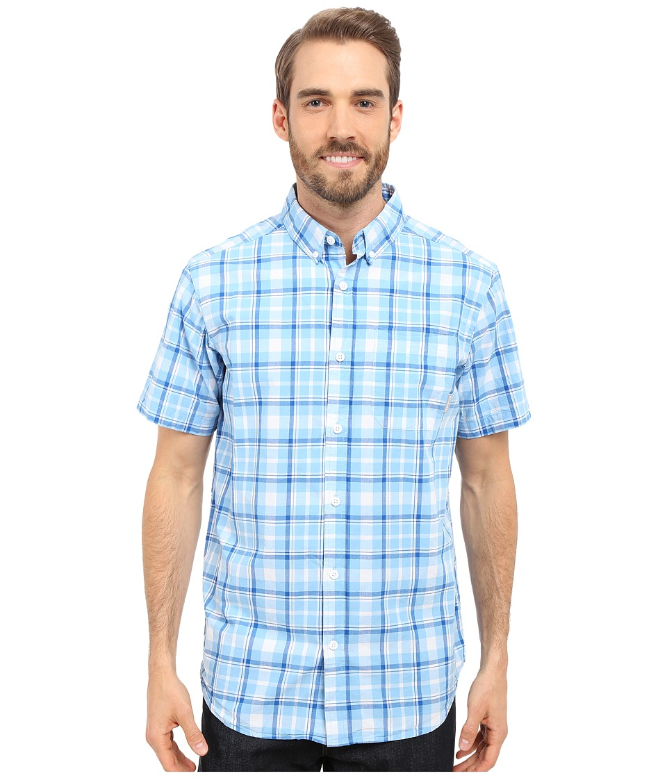 Columbia - Rapid Rivers II Short Sleeve Shirt (Blue Sky Plaid) Men's Short Sleeve Button Up