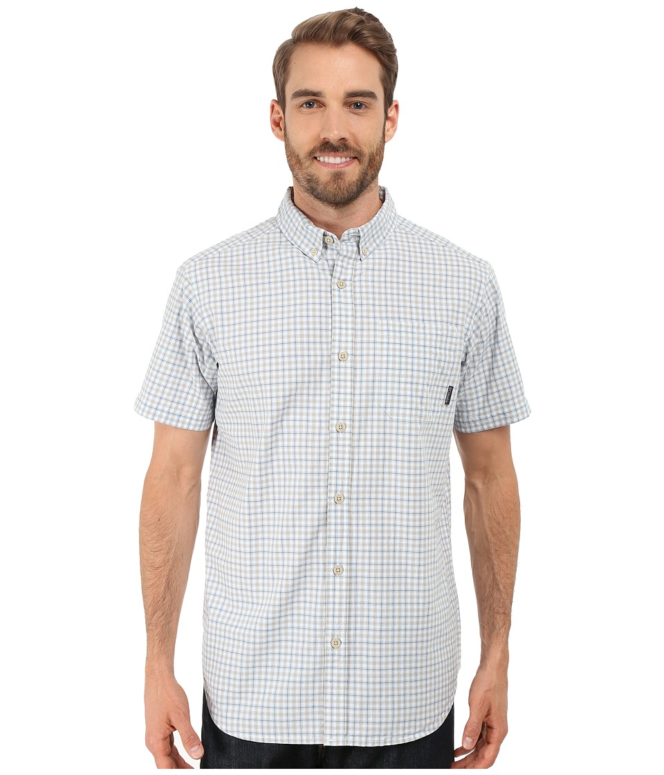 Columbia - Rapid Rivers II Short Sleeve Shirt (Tusk Plaid) Men's Short Sleeve Button Up