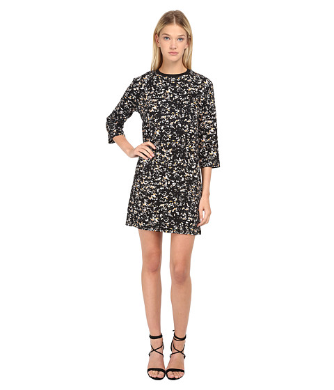 McQ - 1/2 Box Dress (Granite Black) Women