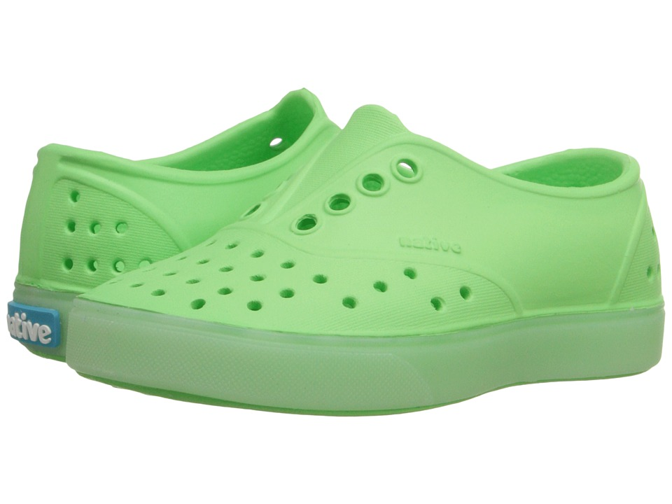 Native Kids Shoes - Miller Glow (Toddler/Little Kid) (Mescal Green Glow) Kid's Shoes