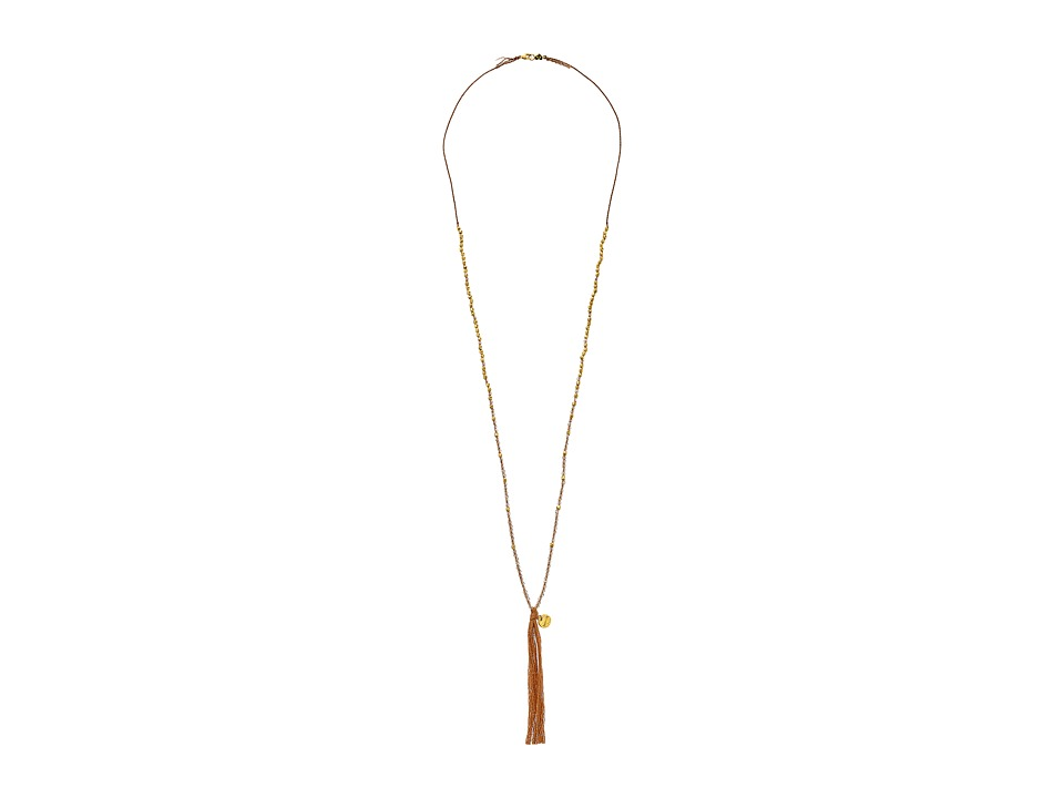Chan Luu - 32' Golden Shadow Crystal Necklace (Golden Shadow) Necklace