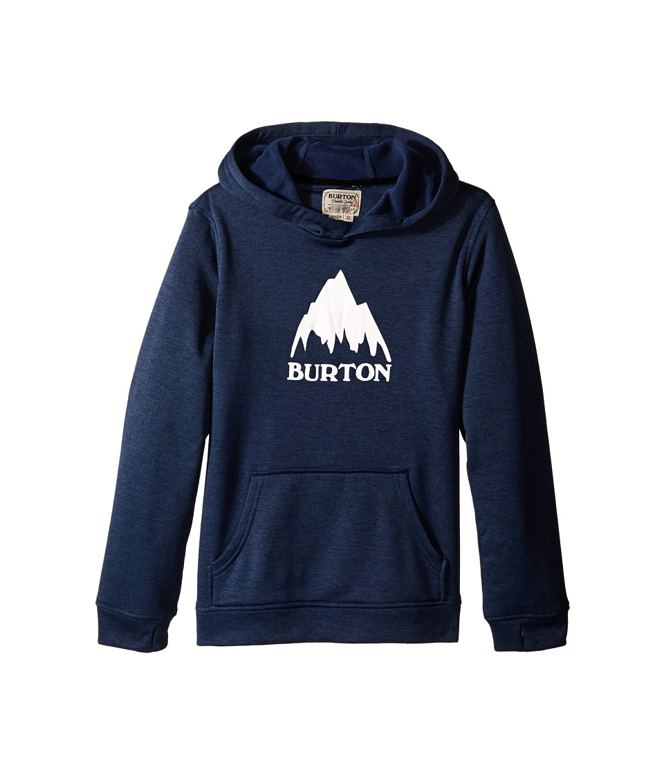 Burton Kids - Oak Pullover Hoodie (Little Kids/Big Kids) (Eclipse Heather) Boy's Sweatshirt