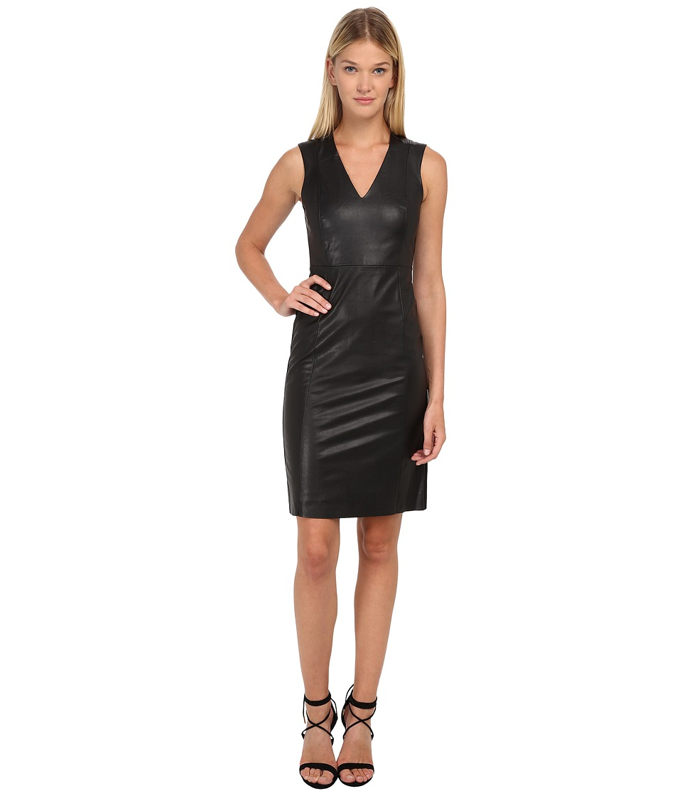 McQ - Sleeveless Contour Dress (Darkest Black) Women's Dress