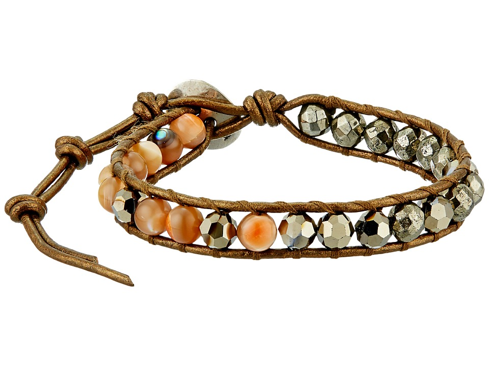 Chan Luu - 6' Pyrite Mix Single Bracelet (Pyrite Mix) Bracelet