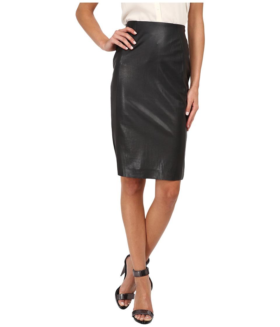 McQ - New Contour Skirt (Darkest Black) Women's Skirt