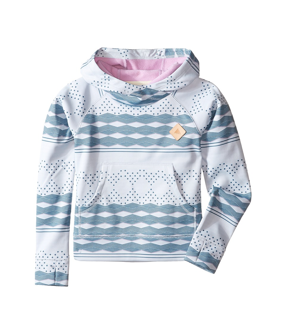 Burton Kids - Heron Pullover Hoodie (Little Kids/Big Kids) (Ethnic Herringbone Stripe) Girl's Sweatshirt