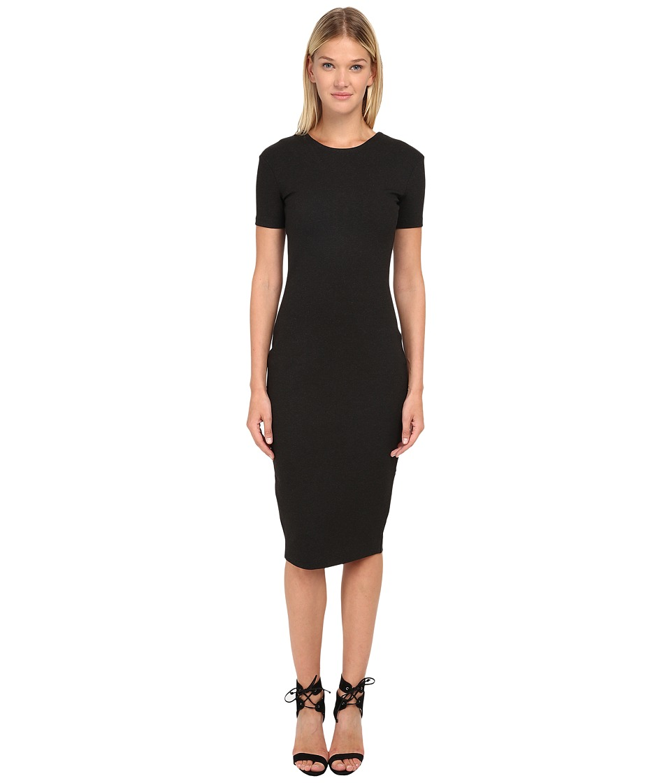 McQ - Open Back Dress (Charcoal) Women's Dress
