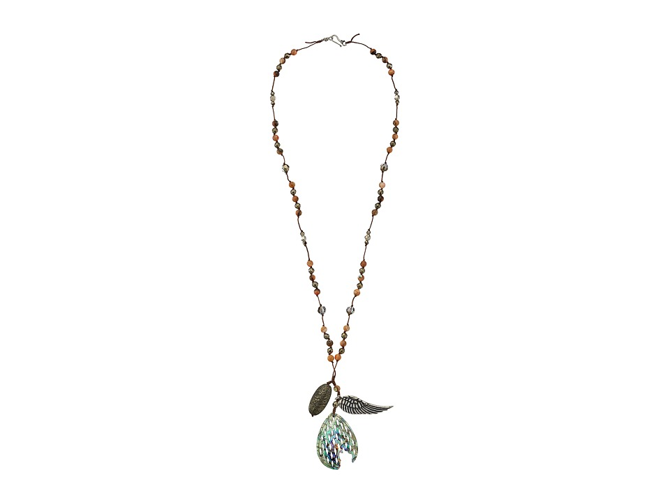 Chan Luu - 30' Abalone Charm Necklace (Abalone) Necklace