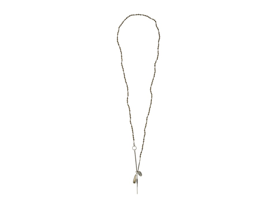 Chan Luu - 39 1/2' Pyrite Dagger Necklace (Pyrite) Necklace
