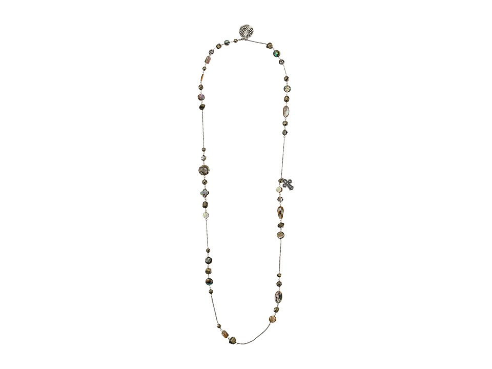 Chan Luu - 42' Adjustable Abalone Mix Necklace (Abalone) Necklace