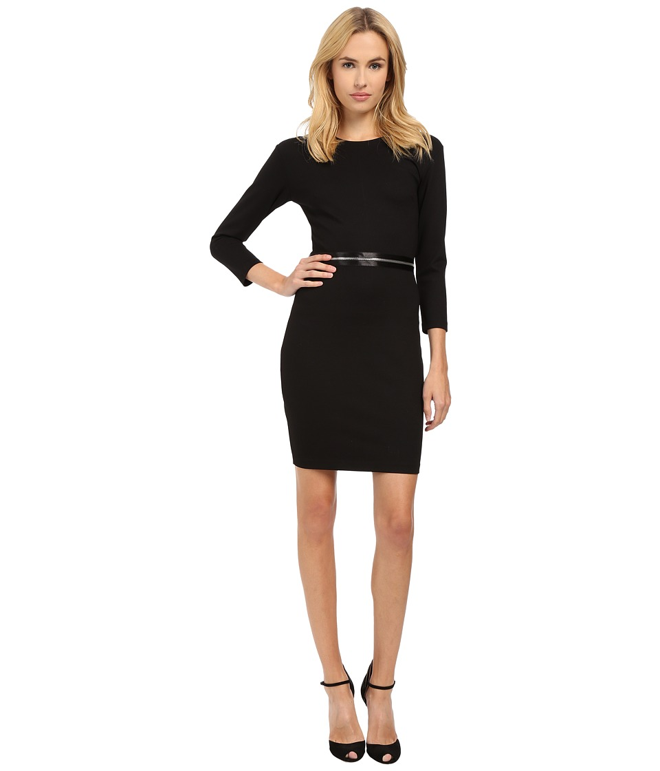 McQ - Zip Off Dress (Darkest Black) Women's Dress
