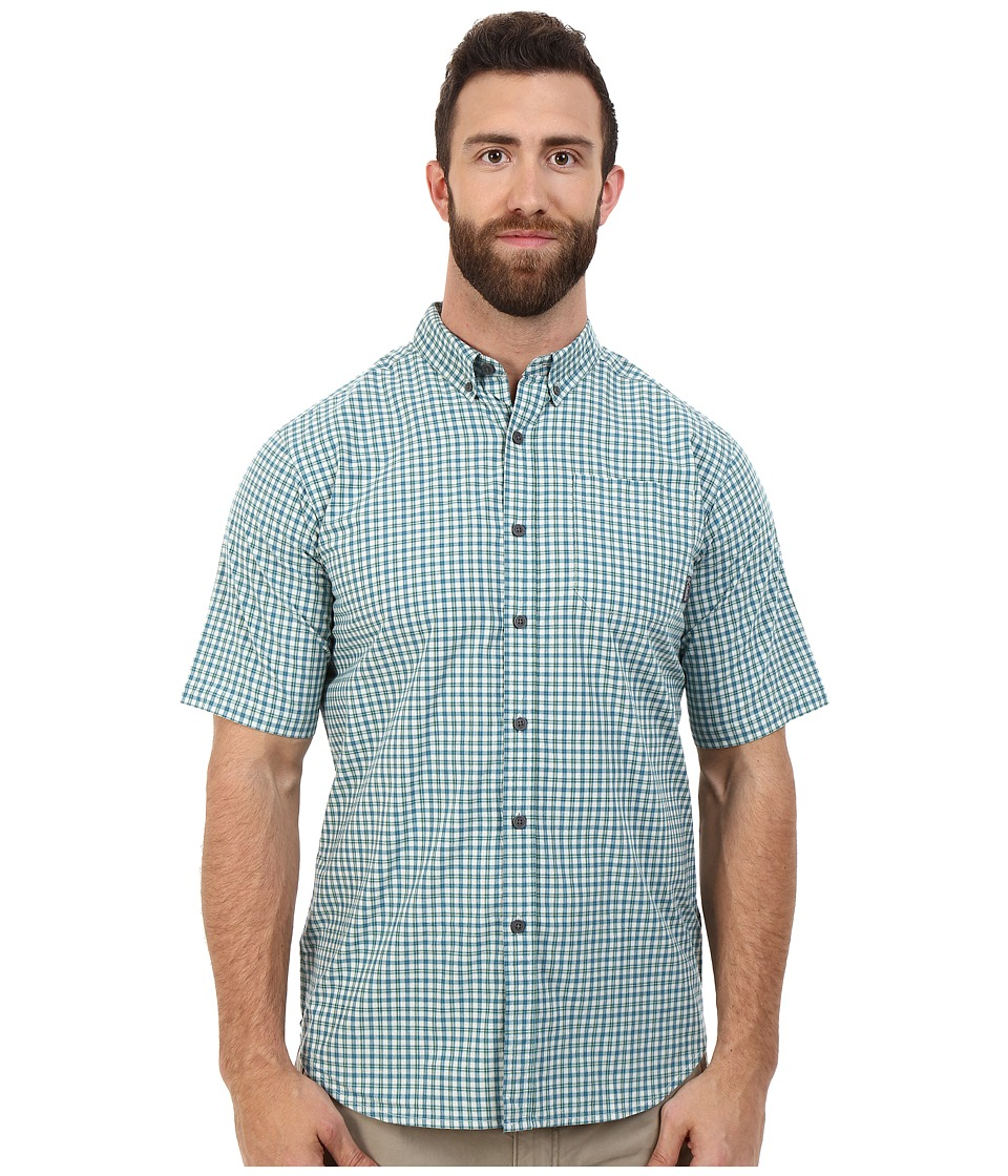 Columbia - Big Tall Rapid Rivers II Short Sleeve Shirt (Gemstone Plaid) Men's Short Sleeve Button Up