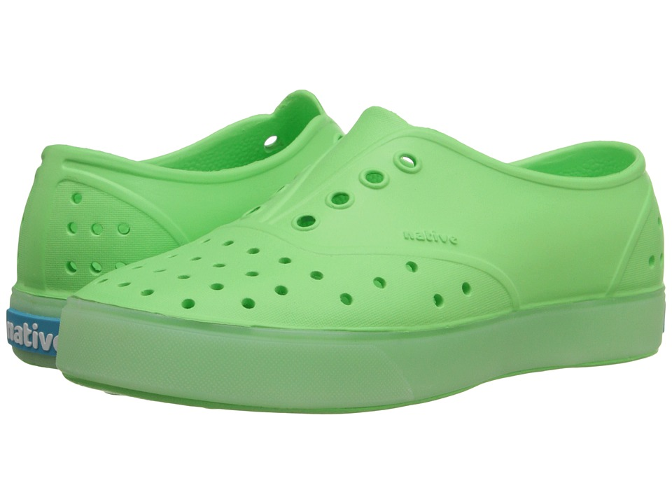 Native Kids Shoes - Miller Glow (Little Kid) (Mescal Green Glow) Kid's Shoes
