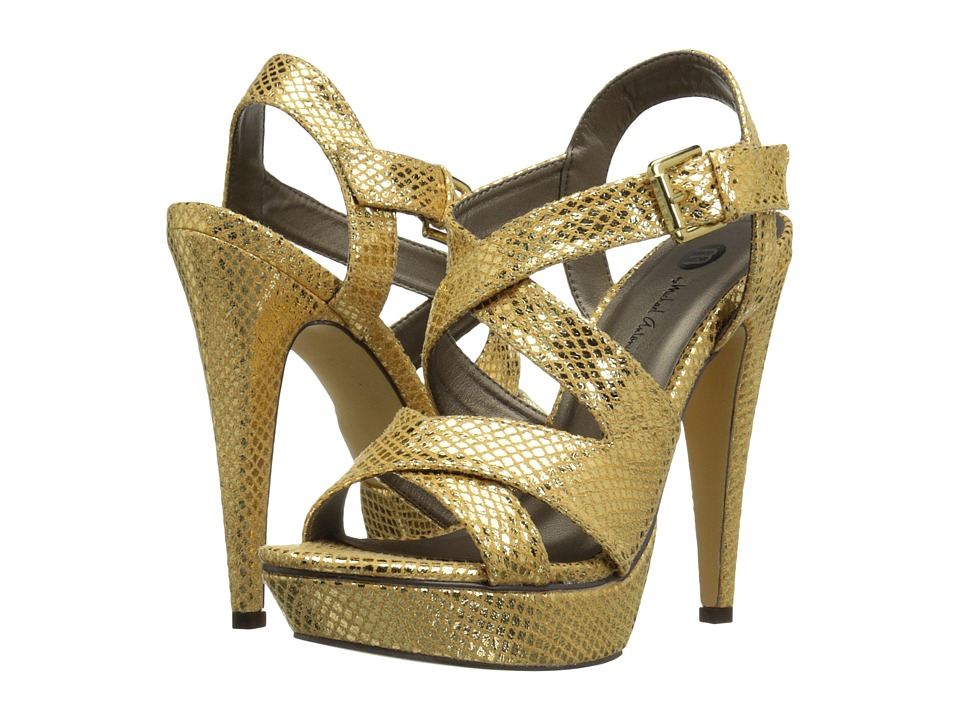 Michael Antonio - Randy - Metallic (Gold) Women's Dress Sandals