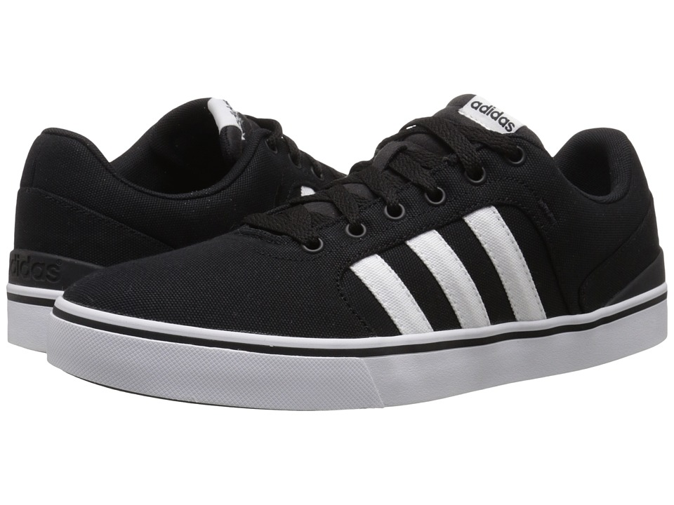 adidas - Hawthorn St (Black/White/Black 2) Men's Shoes
