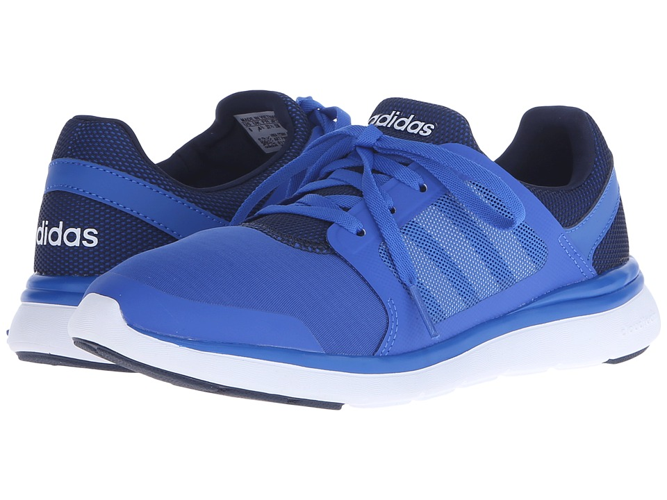 adidas - Cloudfoam Xpression (Blue/Collegiate Navy/White) Women's Running Shoes