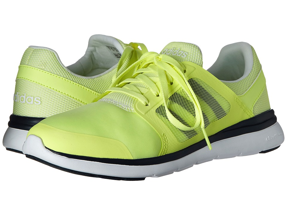 adidas - Cloudfoam Xpression (Frozen Yellow/Collegiate Navy/White) Women's Running Shoes