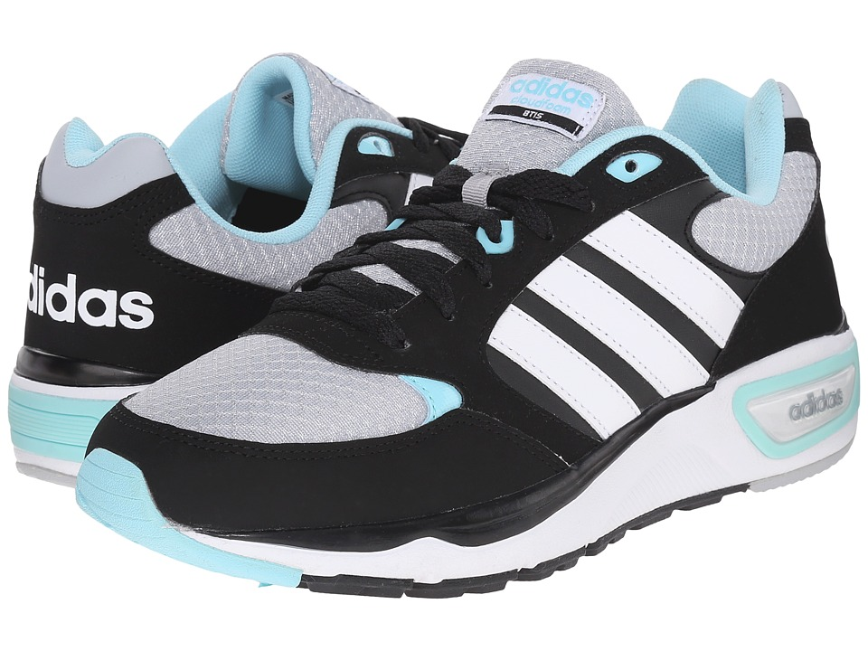 adidas - Cloudfoam 8tis (Clear Onix/White/Blue Zest) Women's Running Shoes