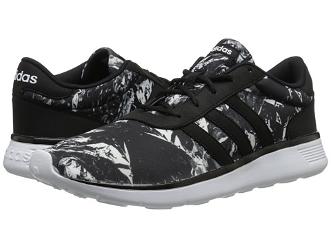 adidas - Lite Racer (Black/White/White) Women's Shoes