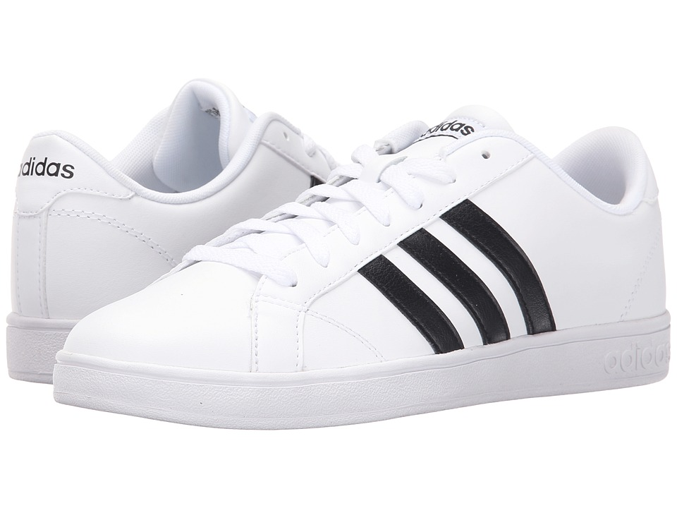 adidas - Baseline (White/Black/White) Women's Lace up casual Shoes