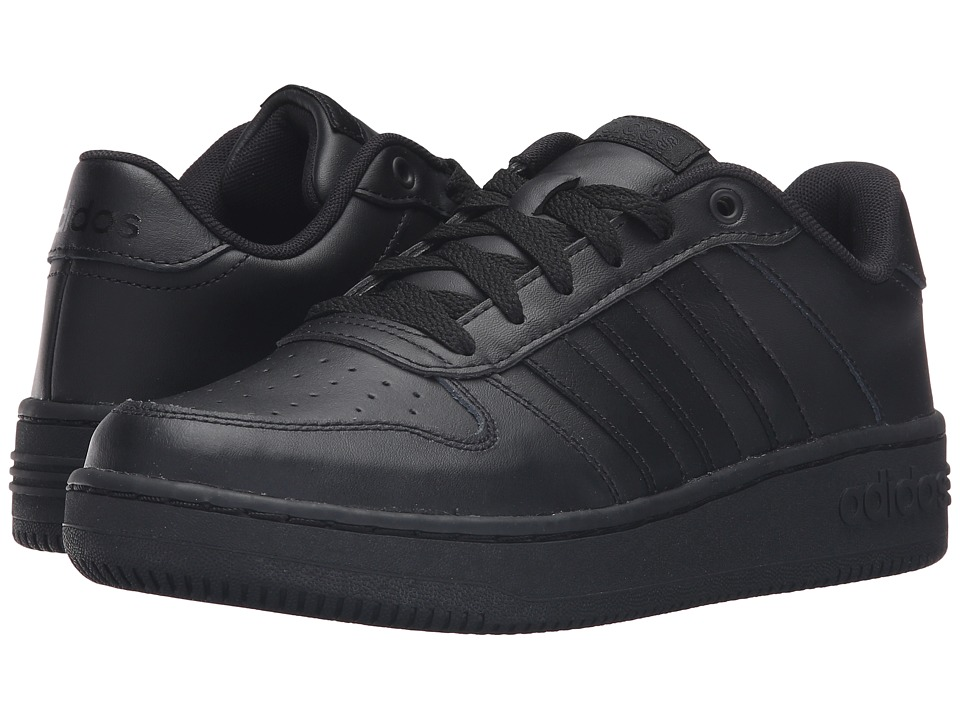 adidas - Team Court (Core Black/Core Black/Matte Silver) Women's Lace up casual Shoes