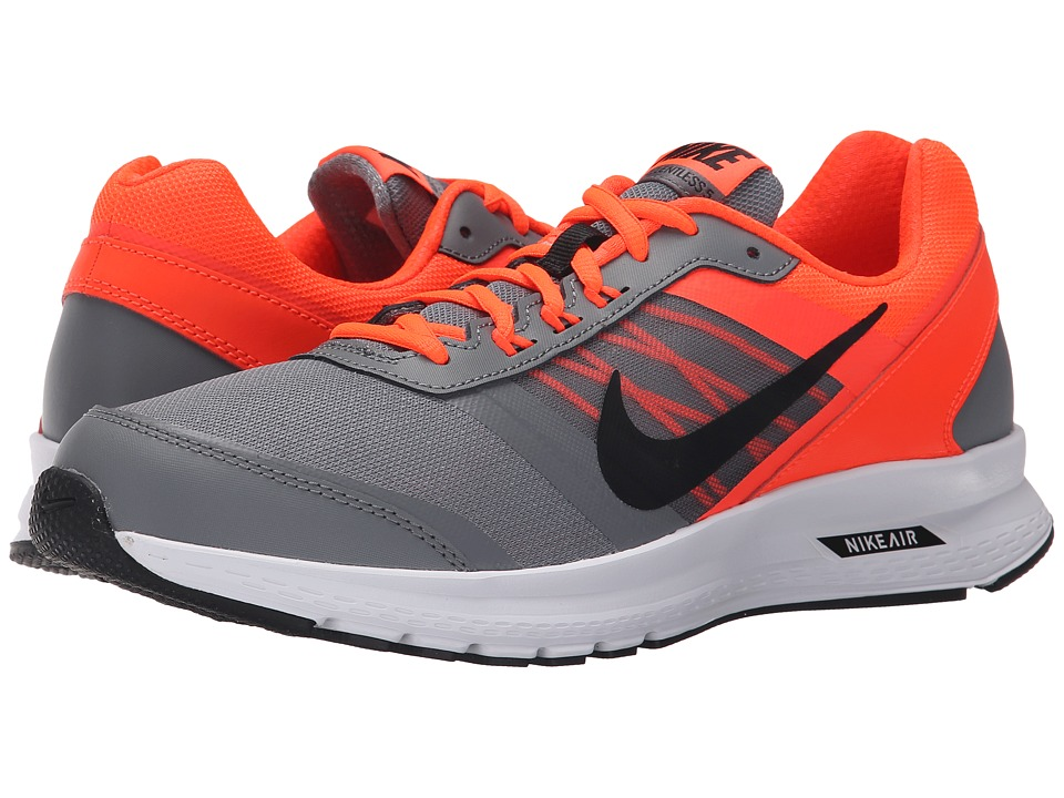 Nike - Air Relentless 5 (Cool Grey/Total Crimson/White/Black) Men's Running Shoes