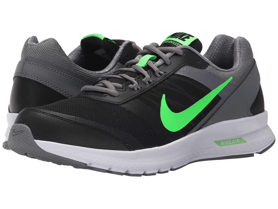 Nike - Air Relentless 5 (Black/Cool Grey/White/Voltage Green) Men's Running Shoes
