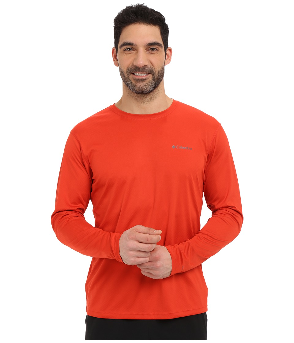 Columbia - Zero Rules L/S Shirt (Super Sonic) Men's Long Sleeve Pullover
