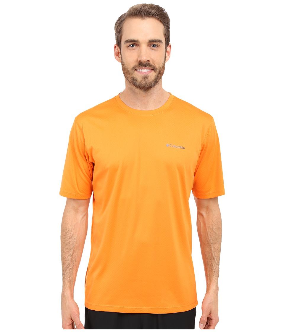 Columbia Zero Rules S-S Shirt Solar Mens Short Sleeve Pullover