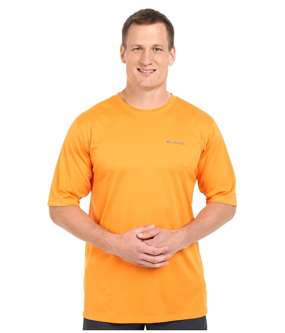 Columbia - Zero Rules S/S Shirt - Big (Solar) Men's Short Sleeve Pullover